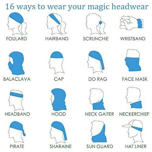 Magic Headwear Art Painting Outdoor Scarf Headbands Bandana Mask Neck Gaiter Head Wrap Mask Sweatband