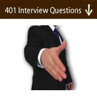 401 Interview Questions - the most common government interview questions