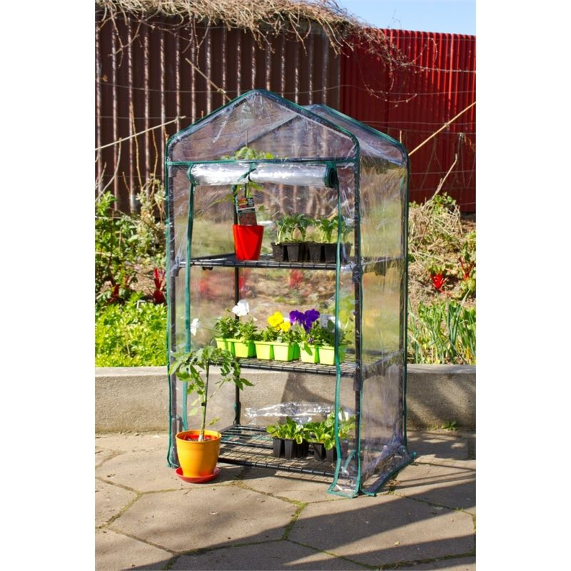Find Greenscape 3 Tier Greenhouse With Cover At Bunnings Warehouse. Visit  Your Local Store For