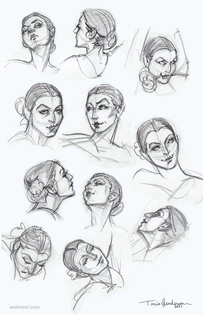 그림 그리기 얼굴