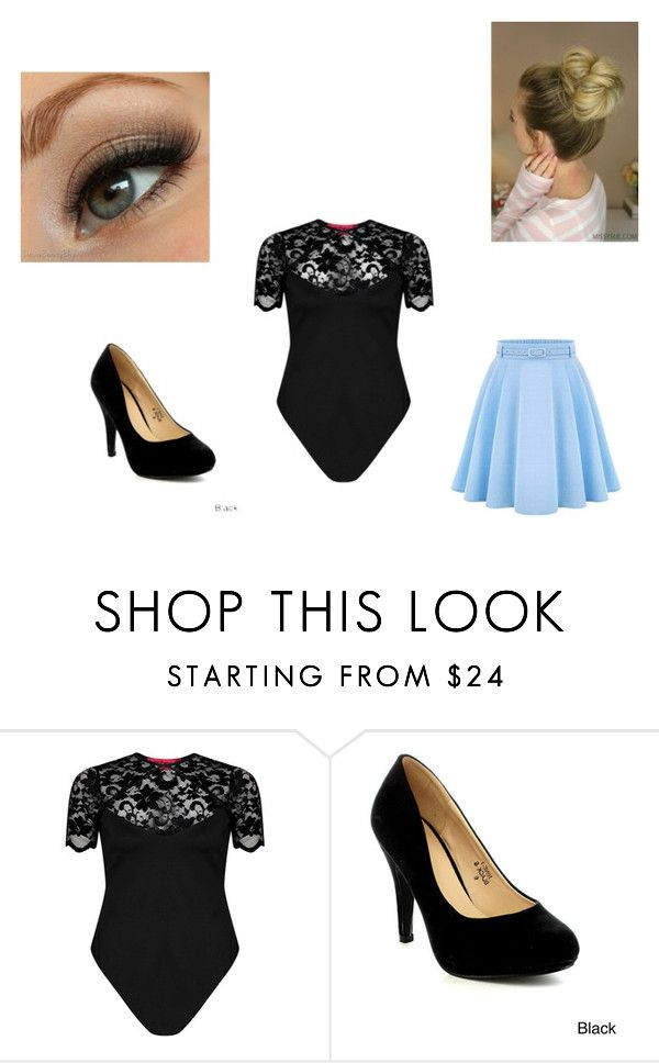 """Back to School Terry and Terri"" by maryvarleyrox ❤ liked on Polyvore featuring Boohoo, Bella Marie and WithChic"
