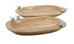 Luca Wood Trays