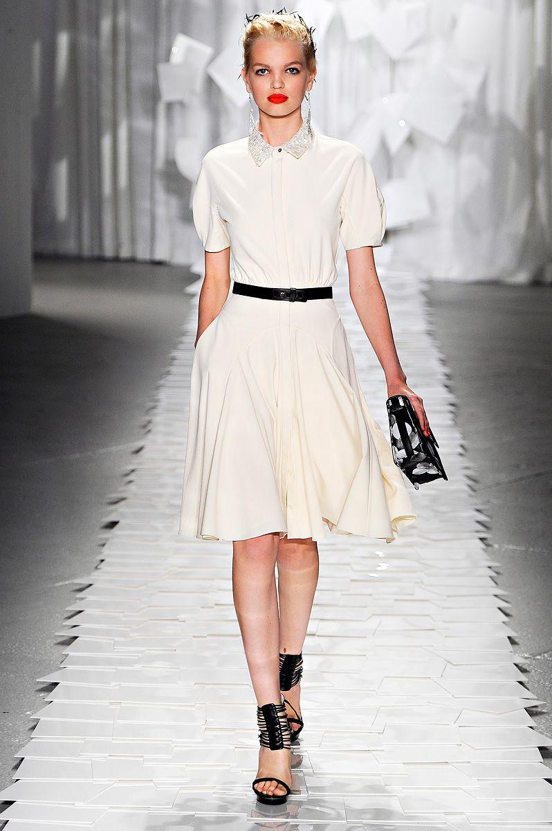 Jason Wu Spring 2012 RTW #fashion