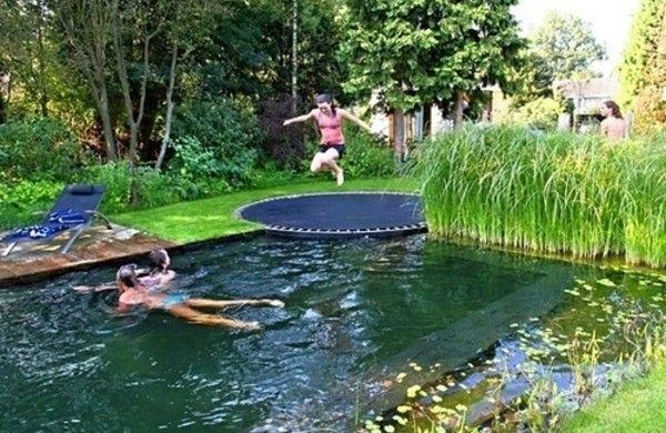 garten anlegen ideen gartengestalten wasser anlage A place to - garten anlegen mit pool