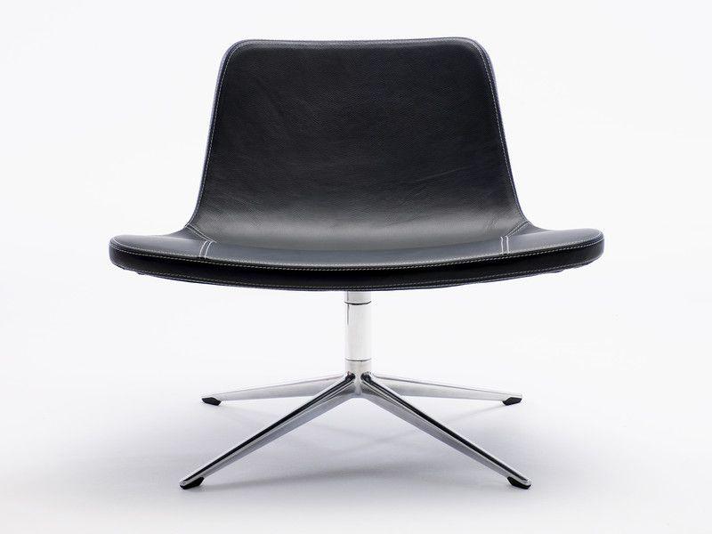 Hay Ray Lounge Chair Swivel Base | Chair, Lounge chair