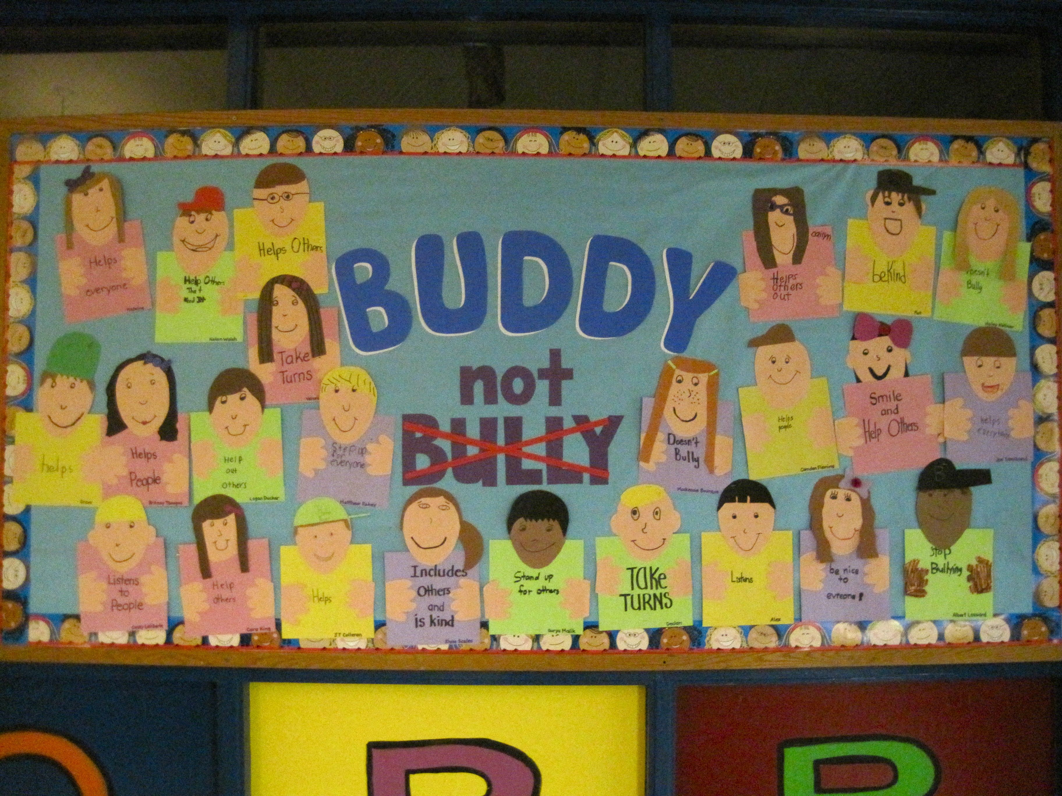 Buddy Not Bully Peacebuilder Board With Images