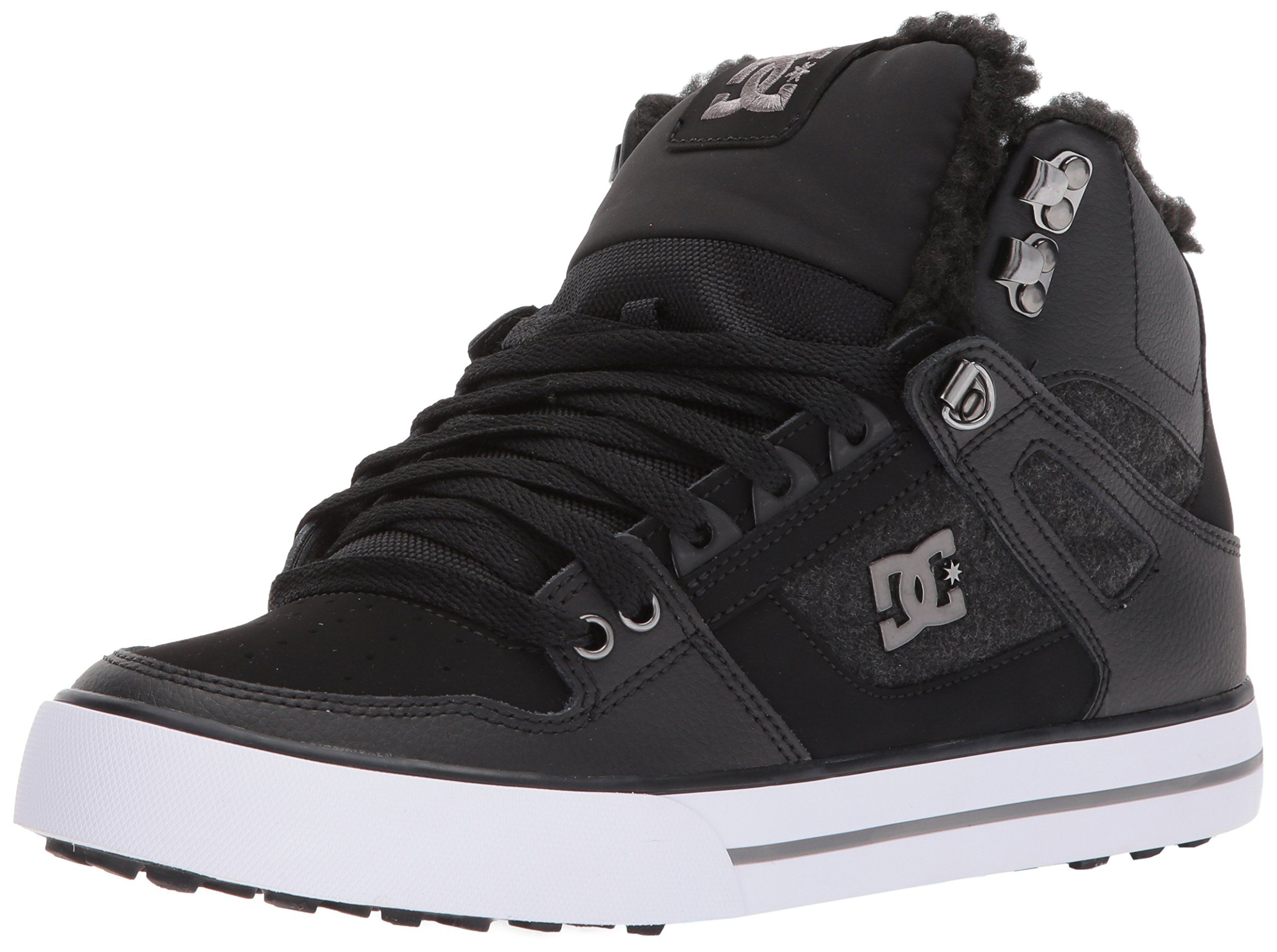 Dc Womens Spartan High Wc Wnt Skate Shoe Black Armor 10 D D Us To View Further For This Item Visit The Image Link This Is Skate Shoes Shoes Black Shoes