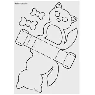 Laternen Katze Laterne Basteln Vorlagen Schablonen Laternen Basteln