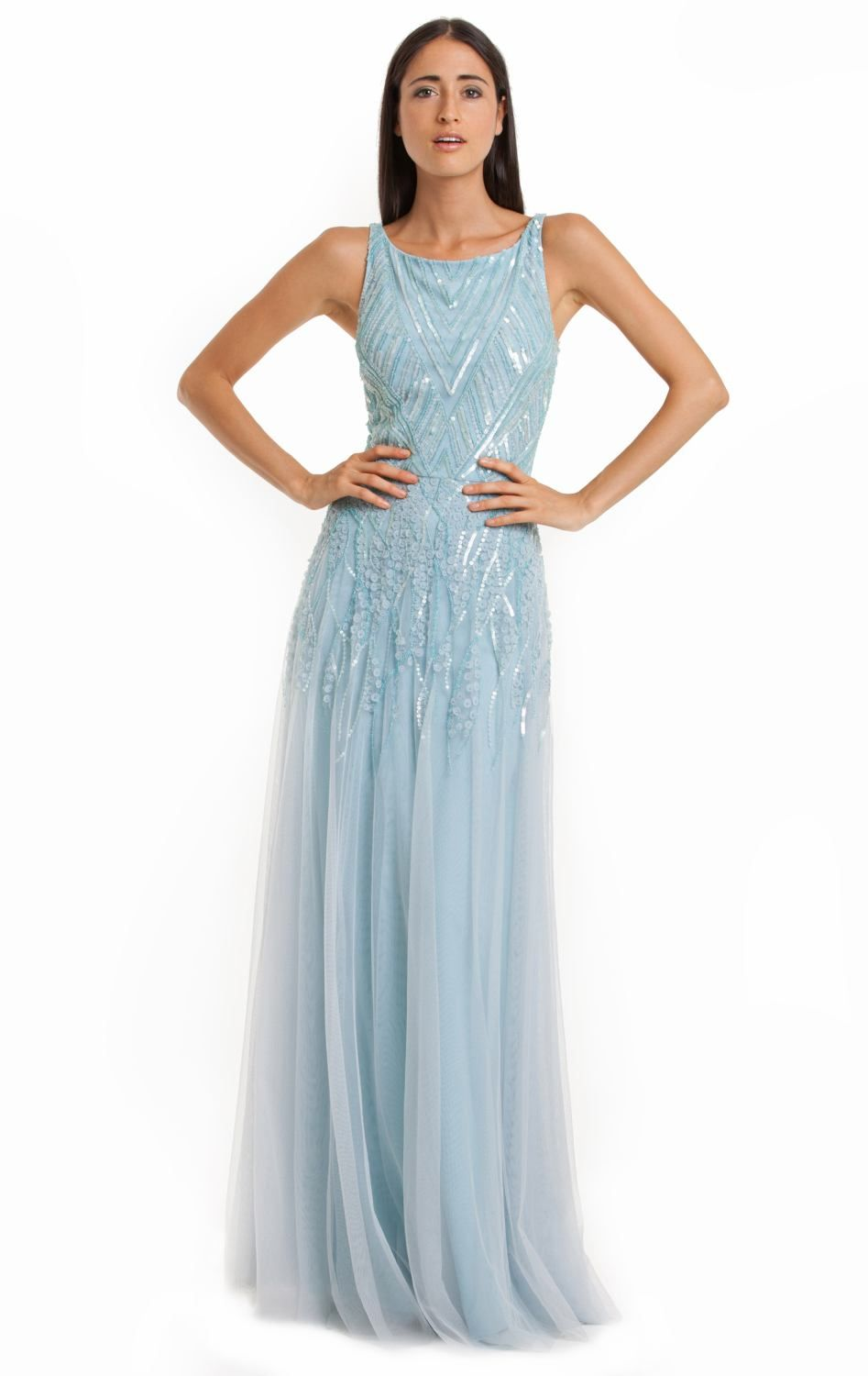 Sequined Evening Gown by JS Collections | Gowns, Bodice and Feminine
