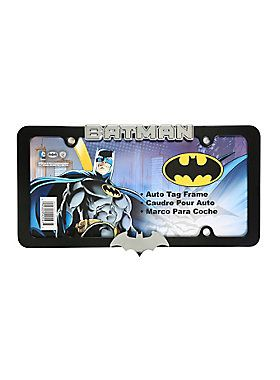 Batman All Metal License Plate Frame
