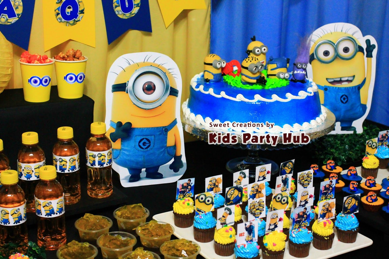 Minion Party Minion Candy Table Kids Party Hub Despicable Me Minions Themed