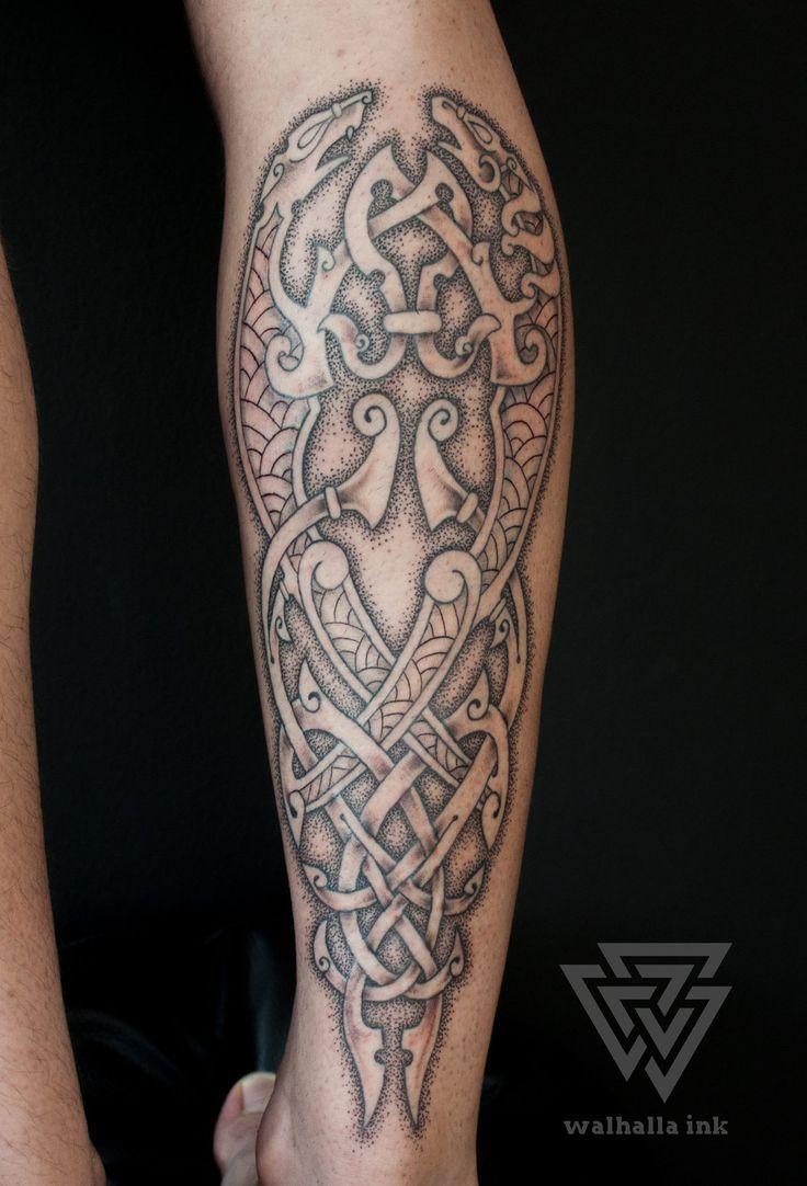 Treppe Zu Walla Wikinger Tattoo Symbole Wikinger