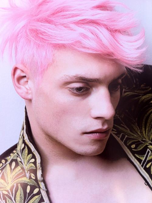 Pink Hair Men Pink Hair Guy Hair Color Pink Pink Hair Dye