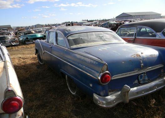 1956 Ford Crown Victoria ScrapYardsCrownsAbandoned CarsRusty CarsVictoria LostBarn FindsOld Cars