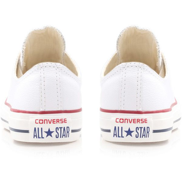 0e2b0fd486bc Converse Ct Leather Low White ( 78) ❤ liked on Polyvore featuring shoes