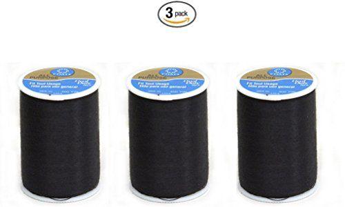 Coats & Clark Dual Duty All-Purpose Thread 400 Yds: Black (ONE spool of yarn) (3) Coats & Clark Inc. http://www.amazon.com/dp/B015RN5LDU/ref=cm_sw_r_pi_dp_wVXVwb04QXZRS
