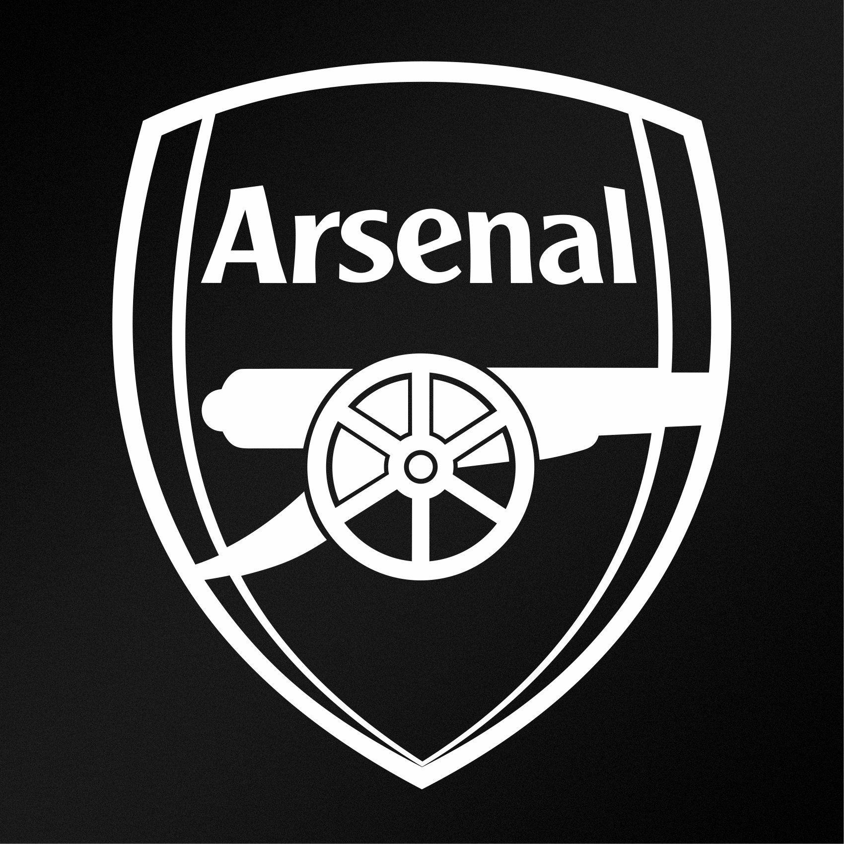 Arsenal F C Logo Vinyl Decal Sticker