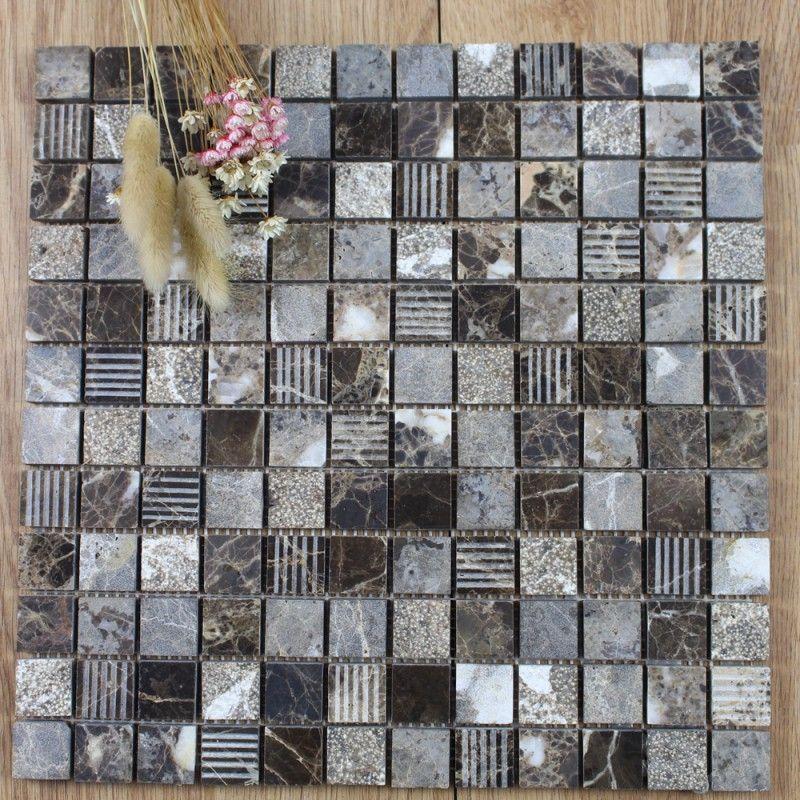 Factory Price Pakistan Onyx Mosaic Tiles White Tile Front Wall