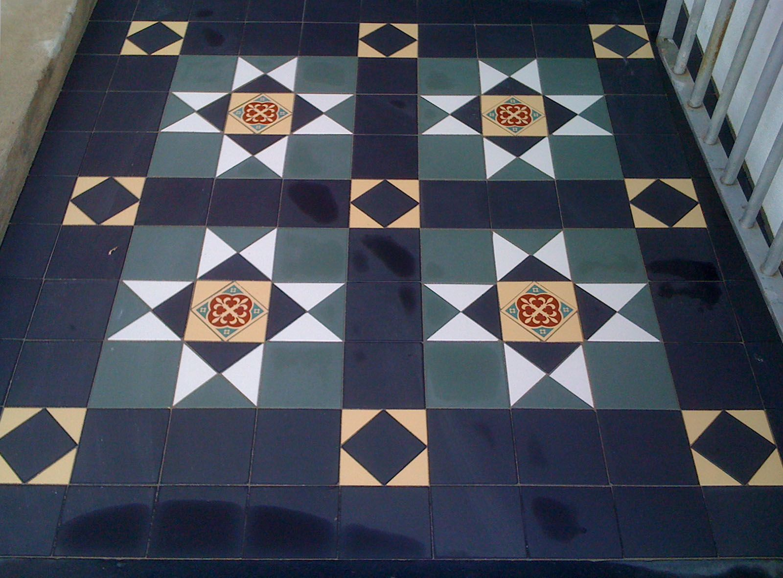 Pin Tessellated Tile Factory Tiles