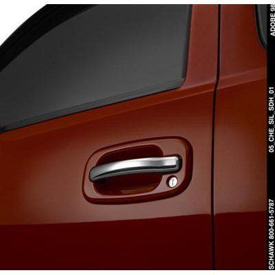 Gm 17801139 Door Handles Outside Front And Rear Set For Use On Crew Cab Models Chrome Black New With Warr Gmc Sierra Door Handles Gmc Sierra Crew Cab