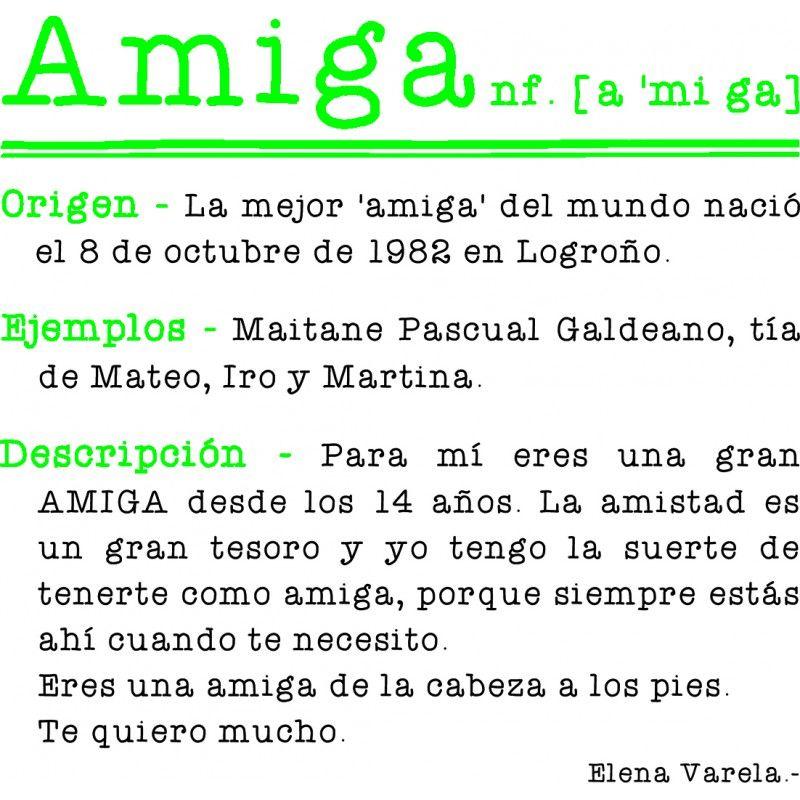 Cojín Amiga Palabras De Amigas Regalos Para Amigas Amigo