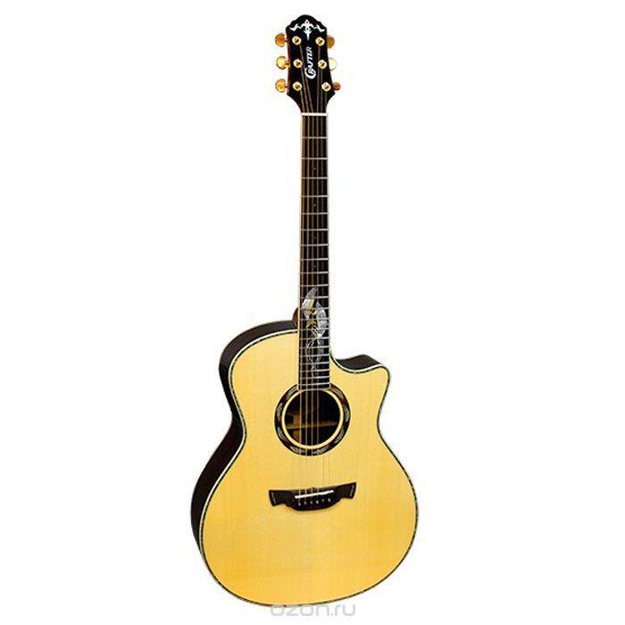 Crafter SM-Rose Plus электро-акустическая гитара + кейс - купить в разделе электроника crafter sm-rose plus электро-акустическая гитара + кейс по лучшей цене от интернет-магазина OZON.ru