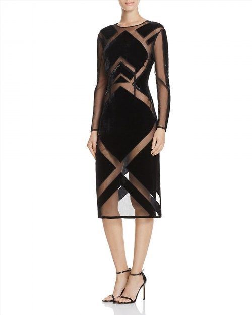 119.20$  Watch now - http://vivcu.justgood.pw/vig/item.php?t=lwemg927438 - KENDALL and KYLIE Velvet Burnout Dress