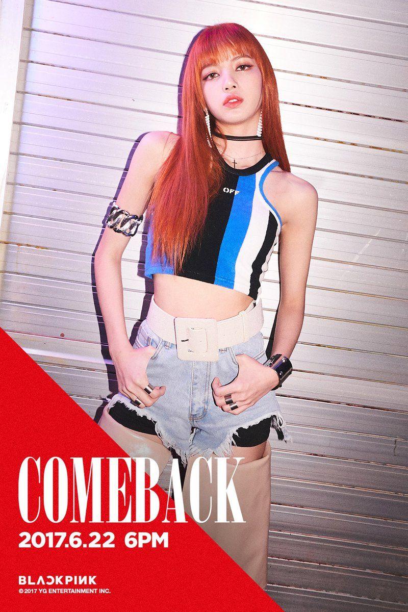 Blackpink Comeback Teaser Rose Lisa Blackpink Black Pink