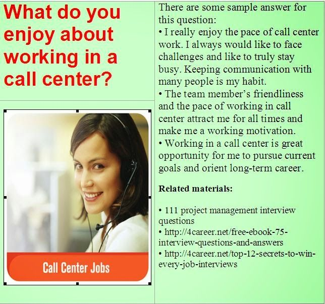 Related materials 51 call center interview questions Ebook - customer service interview questions