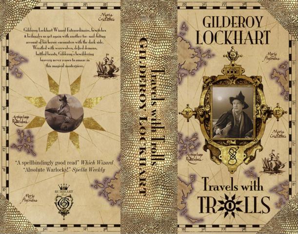 File Travelswithtrollscover Png Harry Potter Miniatures Harry Potter Book Covers Harry Potter Printables
