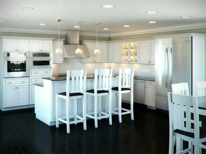 Ordinary White L Shaped Kitchens With Islands Part 6   L Shaped Kitchen  Island