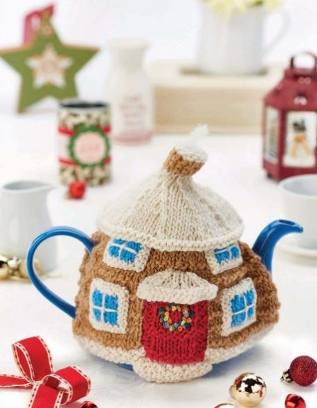 Cute Christmassy Cotswold Cottage Teacosy Cosy For Teapots