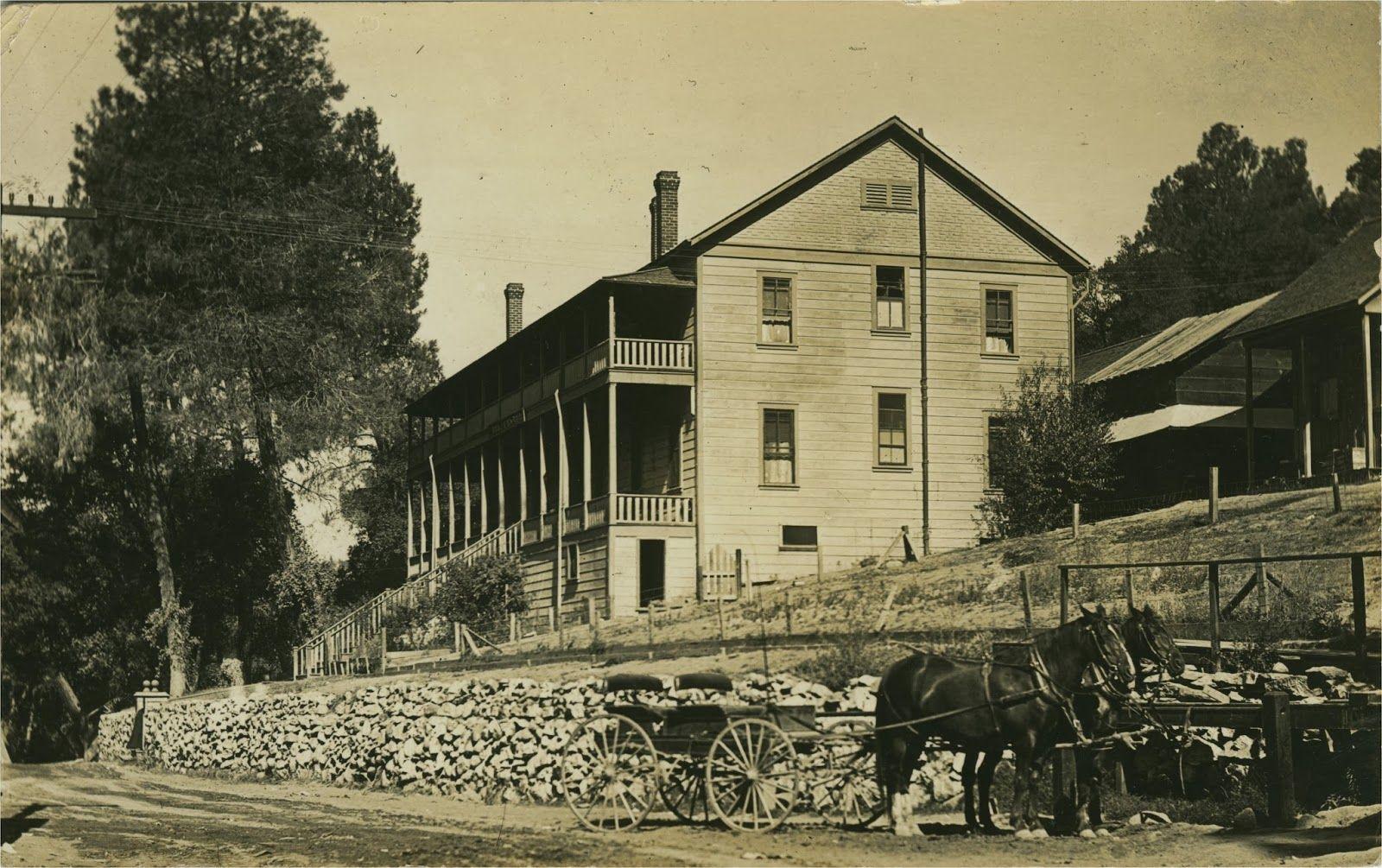 Hotel Del Venado California Hot Springs Circa 1912 This Was Destroyed In