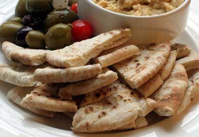 Croustilles de pain pita