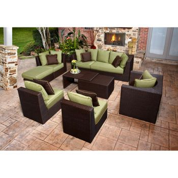 Marabella 8 Piece Patio Sectional Set By Broyhill Outdoor