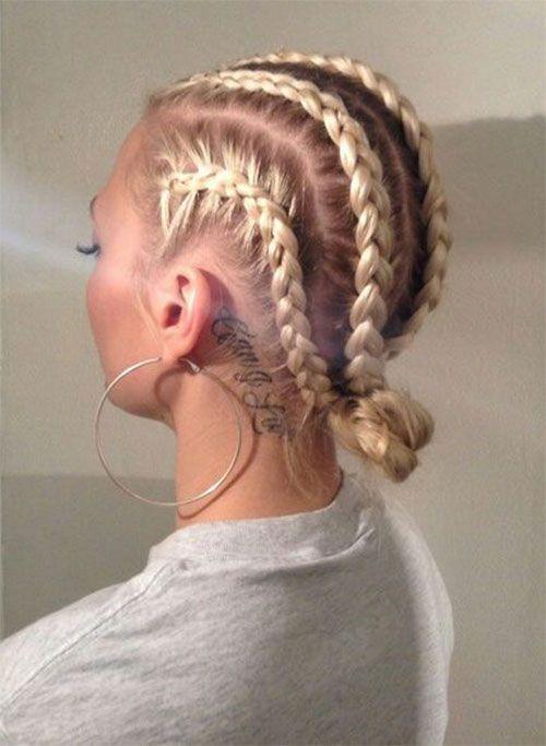18 Best Boxer Braid Style For Women 2016 16 Hair Hair Styles