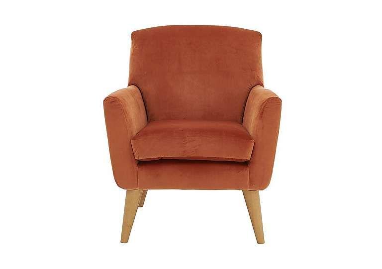 Admirable Line Fabric Accent Armchair In Capri Coral Sale 429 Ibusinesslaw Wood Chair Design Ideas Ibusinesslaworg