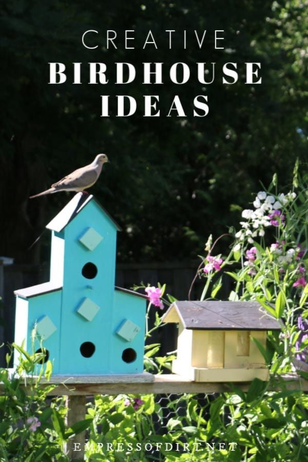 Come grab ideas from this gallery of creative and quirky decorative birdhouses add some art to your garden birdhouse gardenideas gardenart also idea outdoors bird rh pinterest
