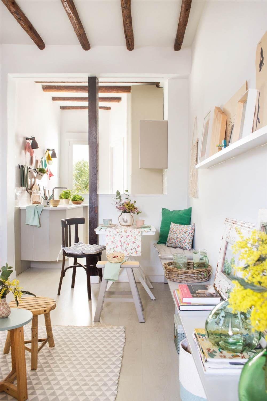 pisos pequeos mini casas mini aticos estilo nrdico madrid diseo interiores decoracin espacios pequeos decoracin en