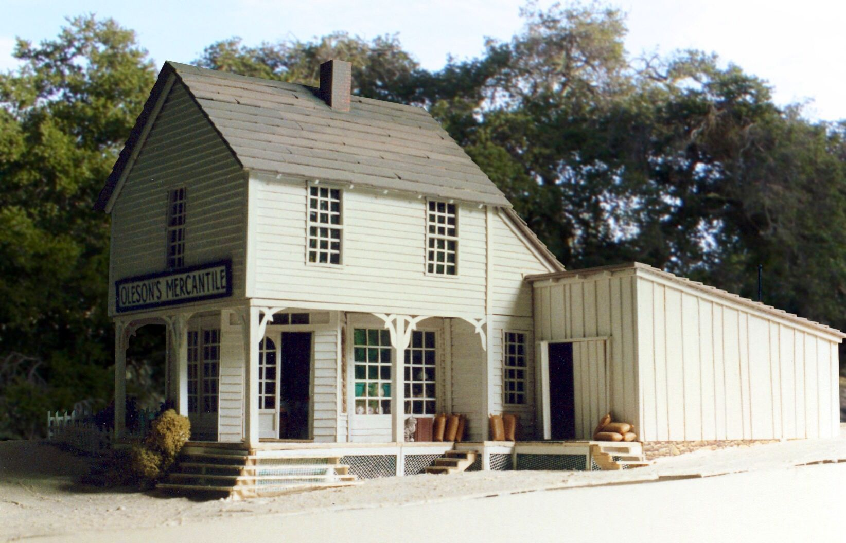 Oleson S Mercantile Little House On The Prairie
