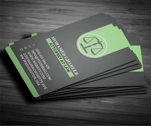 30 Must See Lawyer Business Card Designs Naldz Graphics Lawyer Business Card Visiting Card Design Colorful Business Card