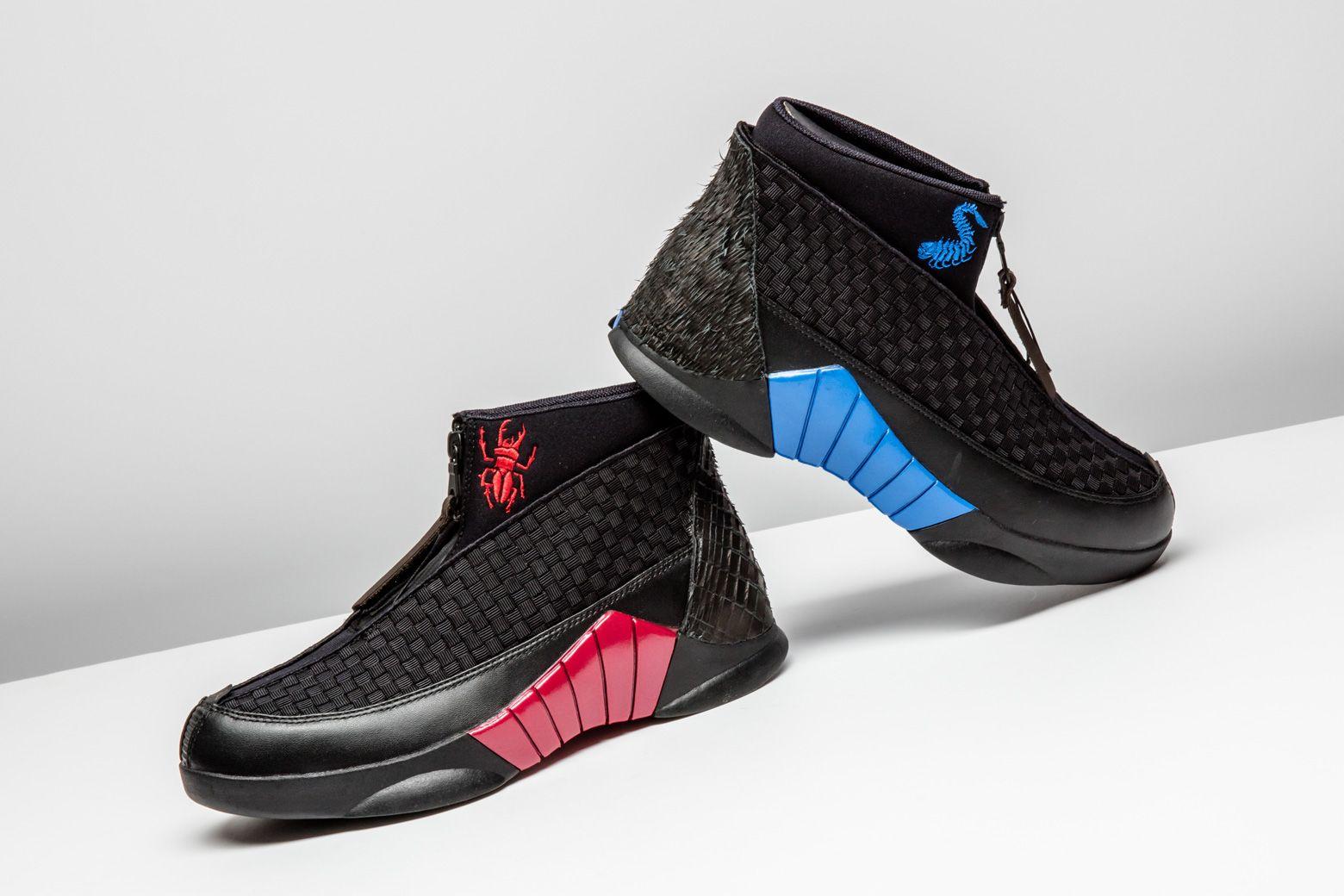 8d8dbc092eb Air Jordan 15 x Kubo Black/Red 'Laika Kubo' | Air Jordan | Air ...