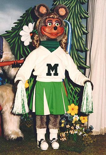 Promo Shot Of Mitzi Chuck E Cheese Showbiz Pizza Country Bears