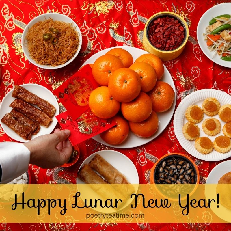 Happy Lunar New Year! Poetry Teatime (With images