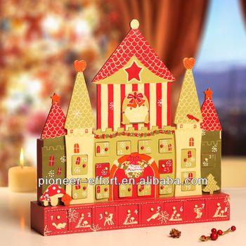 nice present christmas decoration wooden advent calendar. Black Bedroom Furniture Sets. Home Design Ideas