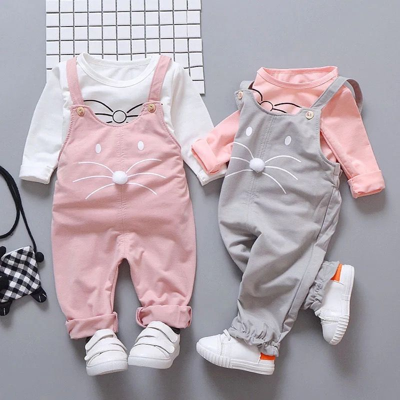 Infant Baby Girl Clothes Clothing Suits Kids Girls Outfits Sets T-shirt Pants