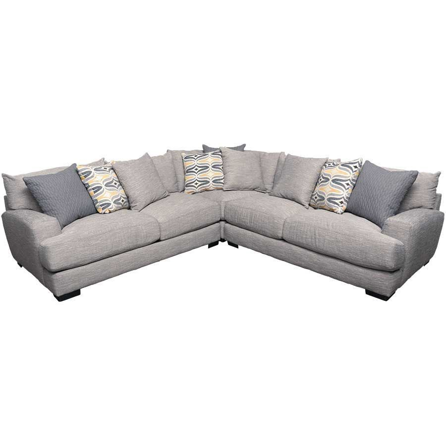 Barton 3pc Sectional Sofa Sectional Sofa Furniture Warehouse