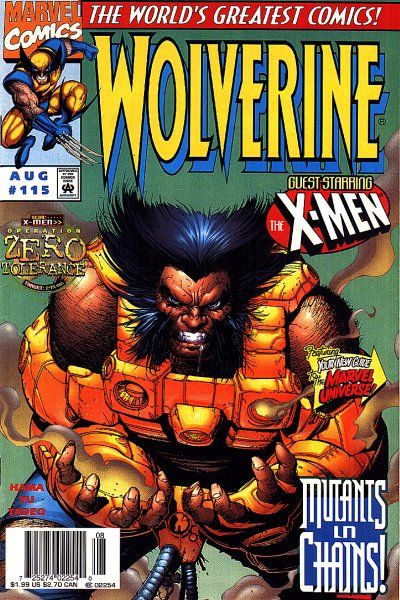 Wolverine Vol 2 115 By Leinil Francis Yu Edgar Tadeo X Men Comics Wolverine Comic