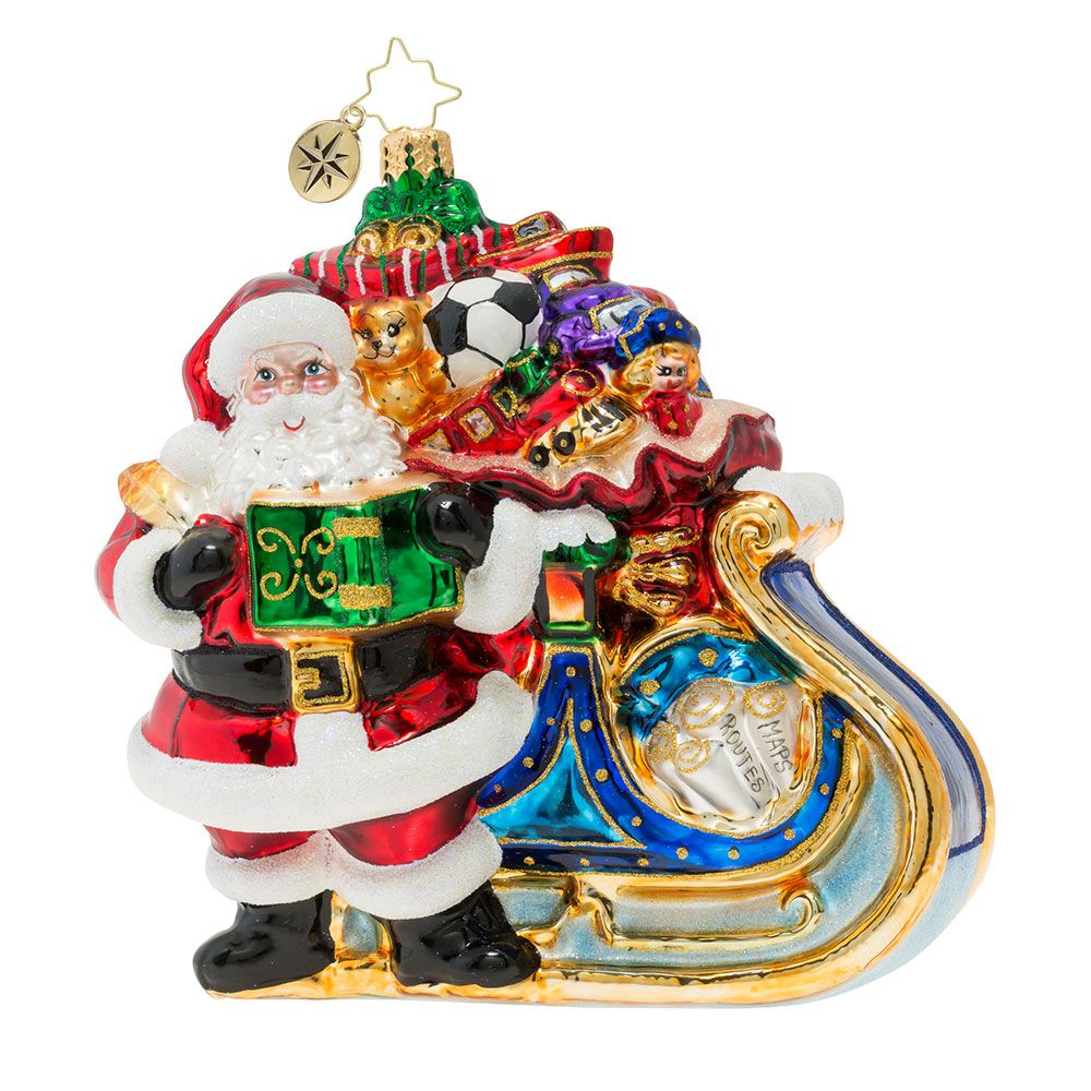 Christopher Radko Ornaments Delivery On Its Way Ornament 1019902 Christopher Radko Ornaments Radko Ornaments Christopher Radko