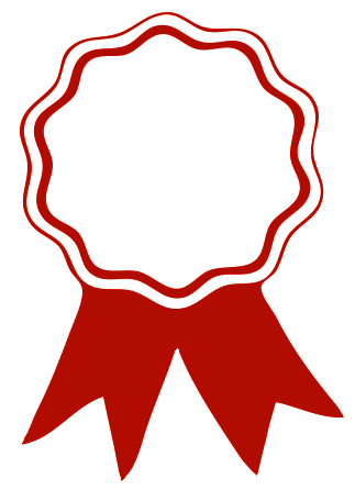 She School February Accomplished Award Ribbon Ribbon Clipart Clip Art